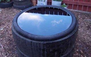 Бассейн из подручных материалов своими руками — покрышки, ванны, бетонного кольца