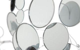 16 зеркальных элементов декора