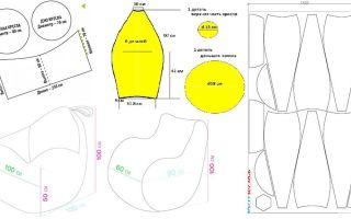 Бескаркасная мебель: как самому сшить кресло-грушу?