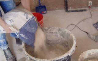 Виды, особенности приготовления и нанесения цементной штукатурки