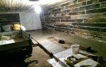 Бюджетный вариант гаража из шпал