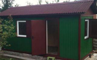 Бытовки и контейнеры для дачи: хозпостройка и временное жилье