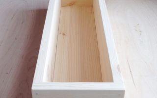 Балконный ящик своими руками (руководство)