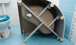 Тонкости установки душевых поддонов
