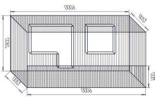 Стандартные размеры лоджии и балкона