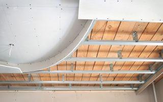 Как сделать двухуровневый потолок своими руками