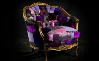 10 вариантов яркой обивки старинной мебели