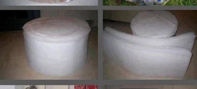 3 способа, как сделать удобный пуфик своими руками