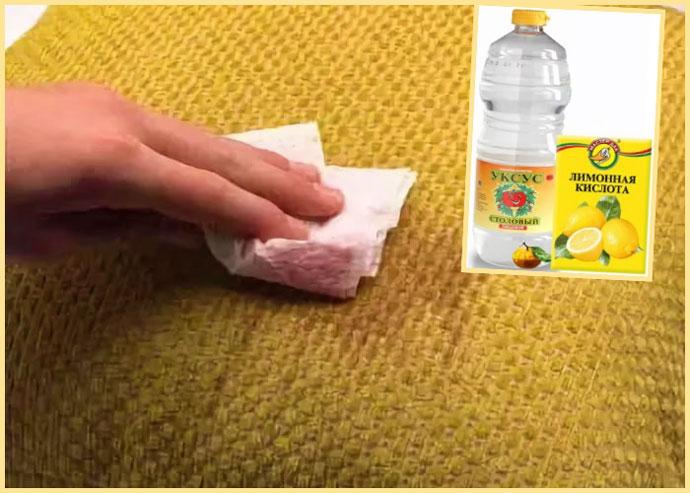Как убрать пятно от мочи на ковре фото
