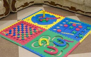 ?ковер-пазл для детей: виды, характеристики и критерии выбора