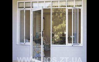 Входные балконные двери со стеклопакетом: особенности применения алюминиевых,пластиковых и металических дверей