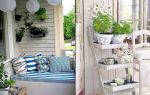 Балкон в стиле прованс своими руками (фото)