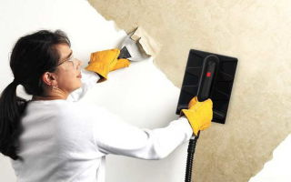 Как снять флизелиновые обои со стен в домашних условиях: способы, особенности (видео)