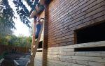 Чем и как проводится обработка дома из бруса?