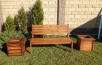 Садовые скамейки: комфортный отдых на приусадебном участке