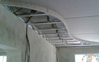 Самодельные двухуровневые потолки из гипсокартона