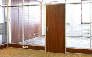 Офисные двери : варианты эконом-класса