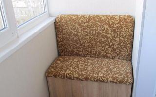 Виды диванов для балкона и лоджии