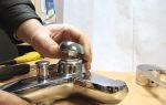 Ремонт, установка и устройство однорычажного смесителя