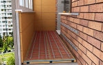 Как сделать водяной теплый пол на лоджии и балконе