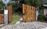 Ворота для дачи: классификация и советы при выборе