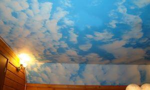 Небо на потолке: изготовление своими руками
