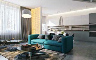 7 идей дизайна квартиры студии. основные тренды 2018 года