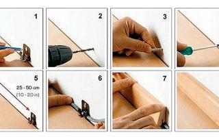 Инструкция по монтажу деревянных плинтусов