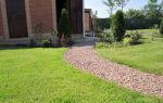 Садовая дорожка из гранитного щебня: просто, красиво и функционально