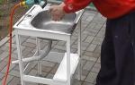 Мойка на даче своими руками: необходимые инструменты и материалы