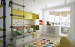 Яркие дизайны детских комнат