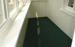 Выбор напольного покрытия для балкона и лоджии