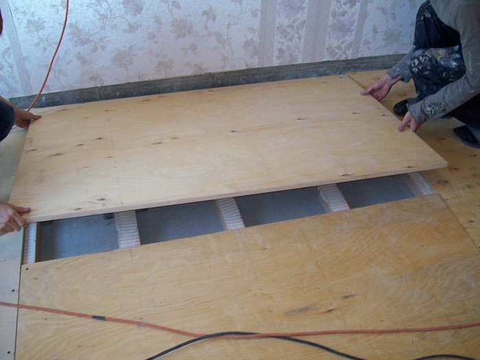 Укладка ОСБ на деревянный пол порядок проведения и особенности мероприятия
